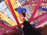 チン玉が縮む動画。高所で無茶する少年たちの無茶度が増しててそろそろ危険