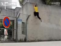 「スパイダーマン」と称された男の驚くべき脚力