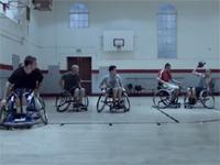 海外のおもしろCM、車椅子バスケ編。最後に良いオチがあります。
