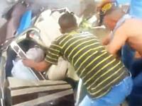 サンパウロで住宅街にヘリコプターが墜落。生々しい事故直後の映像。