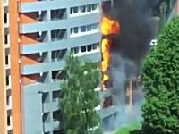 マンション火災の恐怖。2階から火の手が上がったと思ったらあっと言う間に。