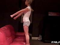女の子だらけの失敗映像集。2013年3月度版。放送事故、フーターズ、ゲロ他