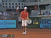 錦織圭がフェデラーに勝ったあああああ!動画。マドリッド・オープン3回戦。