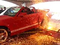 シャシダイで馬力測定中に事故が起きるとこんなにも怖い。シェルビーGT500