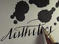 万年筆で文字を書く。ただそれだけなのに美しいビデオ。ナミキ ファルコン
