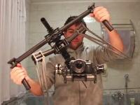 どんな状態でもカメラを安定させる空中撮影用スタビライザーの威力が凄い。