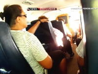 ハワイで飛行機が海に墜落。墜落〜脱出までを機内の乗客が撮影していた映像。