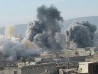 アサド政権部隊が自国内でヘリコプターからたる型ナパーム爆弾を投下。軍事動画。