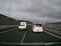 殺人ブレーキ。姫路バイパスでキチガイに絡まれたドライブレコーダー。アイシス。