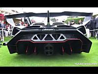 F1マシンより希少な世界に3台しかない超ド級スーパーカーのエンジン始動音