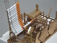 自動でタバコを吸ってくれる斬新なマシーン!!