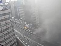本日の渋谷線大炎上の動画まとめ。一般の人たちが撮影したビデオ。煙すごい