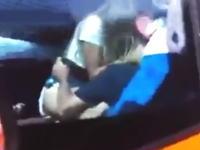 バスの車内で激しくやっちゃってるカップルがいたから取りあえず撮影しといた