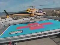 アメリカで医療用ヘリコプターが離陸に失敗して墜落。そのビデオが公開される。