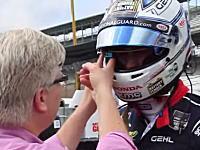 これはイイ!Google Glassをインディカーのドライバーやメカニックに装着して撮影したビデオ。