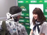 モーニング娘。石田亜佑美さんの握手会の様子がネットにアップロードされる。