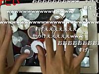 指ドラムの達人が凄すぎワロタwww「X JAPAN Silent Jealousy」すげえw