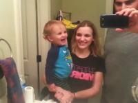 なんだこの幸せ一家(*´д`*)眉毛の動かし方を覚えた赤ちゃんが可愛すぎる動画。