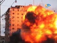 イスラエル国防軍によるハマス司令部ビル爆破解体の様子がハンパない