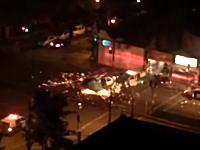 これは珍しい事故。ヘリコプターと消防車が交差点で衝突してバチバチな事にw