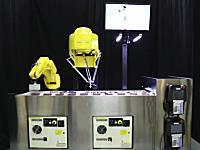 バラバラに流れてきた電池を綺麗に並び替えるハイスピードロボットの働きっぷり
