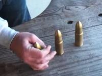 でかいwww世界最大のライフル弾「95口径JDJ」を撃ってみた動画。痛そうwww