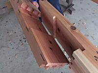 釘やボルトを用いずに柱や梁を繋ぎ合わせる伝統的継手「金輪継」の映像が海外で話題に。