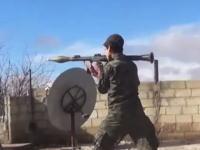 2015年になってもまだ終わらないシリアの戦い。戦闘員の近くから撮影したリアルな戦闘ビデオ。
