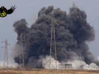 シリア政権軍の前哨基地を狙ったトラックによる自爆攻撃の威力がハンパない