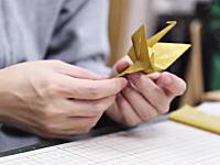 日本発。ダンスをする折り紙の動画が海外で大ヒットwじわじわくるw