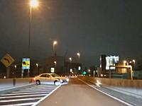 首都高速9号深川線でどーん!事故。2車線またぎってどんな運転してんや動画。