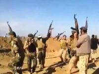 歌って踊ってたイラク兵の元に自爆攻撃のトラックが。爆発の威力はんぱねえ