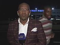 ヨハネスブルグ怖すぎワロタw生放送中のテレビレポーターが強盗に襲われるw