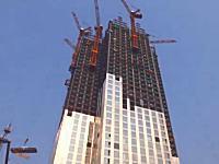 中国の建設技術は世界一!?長沙市の57階建てのビルがわずか19日間で完成する。