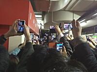 大罵声大会。寝台特急「北斗星」のラストランで上野駅が鉄マニたちで溢れ大変だったらしい。