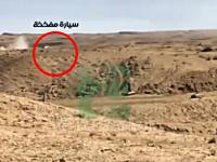 イラクで撮影されたイスラム国(ISIS)による自爆攻撃失敗の映像。キルクーク
