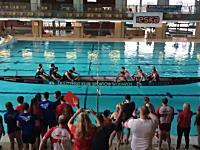 なんだこの競技www一つの船で向かい合った漕手のパワーを競うボート競技。