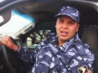 アッラーフ・アクバル動画。これから自動車爆弾で自爆しに行く男性の笑顔と自爆の瞬間。
