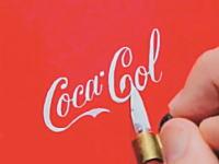アディダスの書き方wwwフリーハンドで有名なロゴを描くプロ文字師のビデオ。