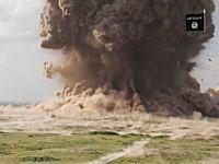 イスラム国が古代アッシリアの遺跡群を完全に破壊。もの凄い爆薬で吹き飛ばす動画を公開。