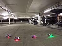 ドローンレーサー。マルチコプターを使ってエアレースを楽しむ人たち。FPVレース。
