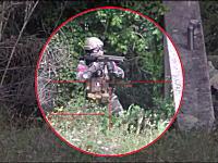 死神級スナイパーはどこから撃たれているのか知られずに相手を倒す。サバゲ動画。