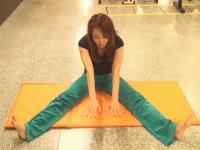 はてブで450usersを獲得している開脚が出来るようになるストレッチ方法。泉栄子先生