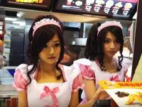 台湾のマクドナルドの店員さんが可愛すぎるwの動画がキテタ。