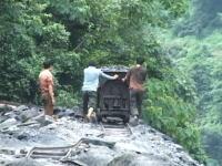 劣悪な環境で働く中国の炭鉱労働者たちの姿を撮影したビデオ。馬廟郷炭鉱。