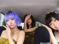 日本の美女3人組がMime Through Timeに挑戦。左の子がカワエエエ