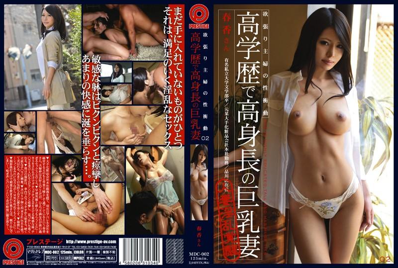 真田春香:欲張り主婦の性衝動 02 高学歴で高身長の巨乳妻 真田春香