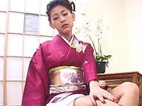 坂巻リオナ 美乳で男を虜に和服美熟女。[無修正]